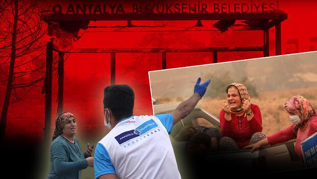 Manavgat'taki yangında inanılmaz anlar: Can var abla can