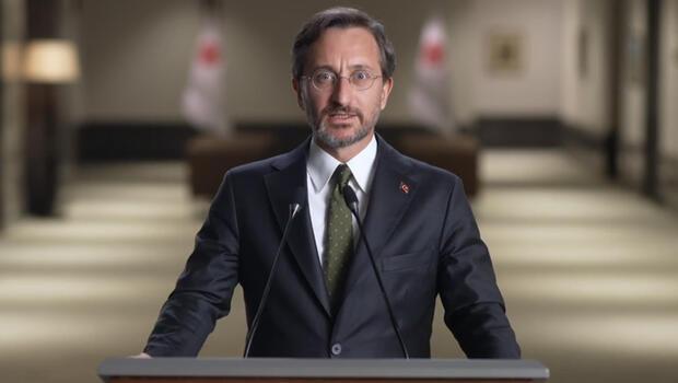 Cumhurbaşkanlığı İletişim Başkanı Fahrettin Altun: Amacımız dezenformasyonun her türlüsünü bertaraf etmek
