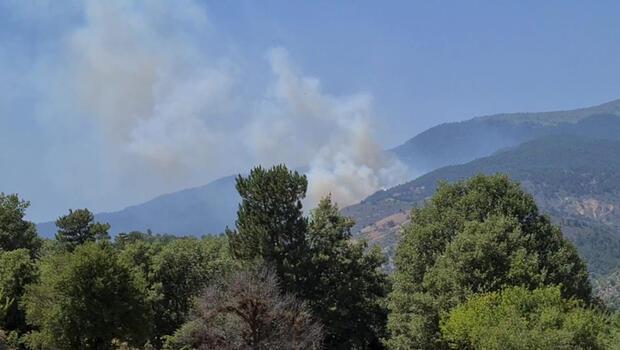 Bir yangın da Kütahya'da! 4 saatte kontrol altına alındı