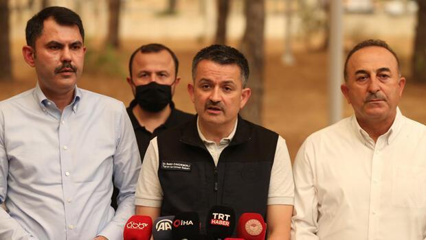 Son dakika: Türkiye'nin 8 ilinde orman yangını... Bakan Pakdemirli: Bodrum Güvercinlik'te bir otel tahliye ediliyor