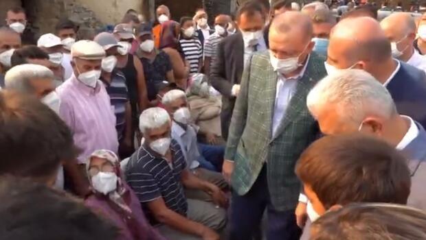 Son dakika haberi: Cumhurbaşkanı Erdoğan vatandaşlarla bir araya geldi
