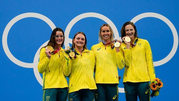 Tokyo 2020'de Avustralya'da olimpiyat rekoruyla altın madalya!