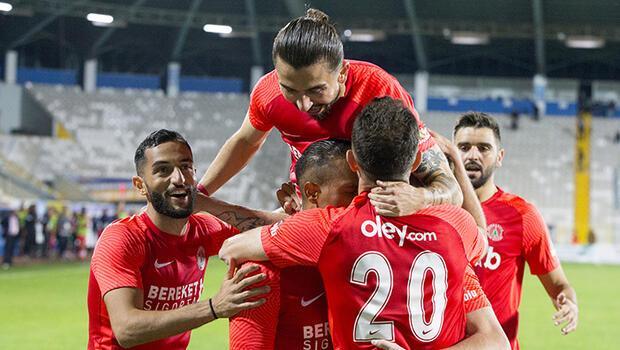 Büyükşehir Belediye Erzurumspor: 0 - Bereket Sigorta Ümraniyespor: 2