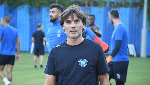 """Adana Demirspor Teknik Direktörü Montella: """"Düzeltmemiz gereken birçok şey var"""""""