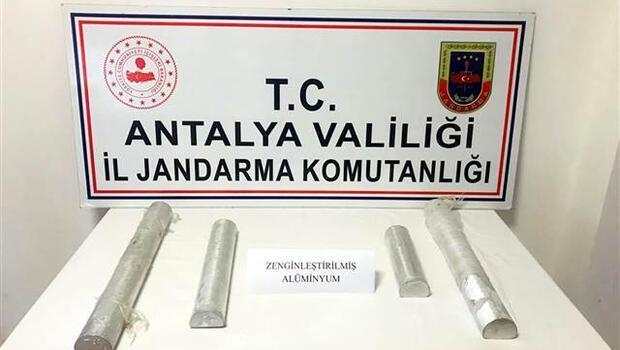 Antalya'da ele geçirildi! Füze imalatında kullanılıyor, değeri 60 milyon TL