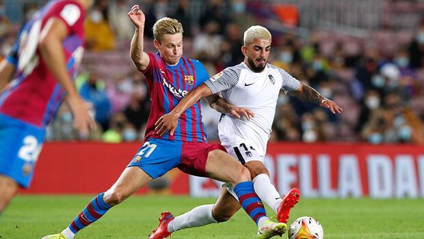 Barcelona, puanı son dakikada kurtardı! Granada...