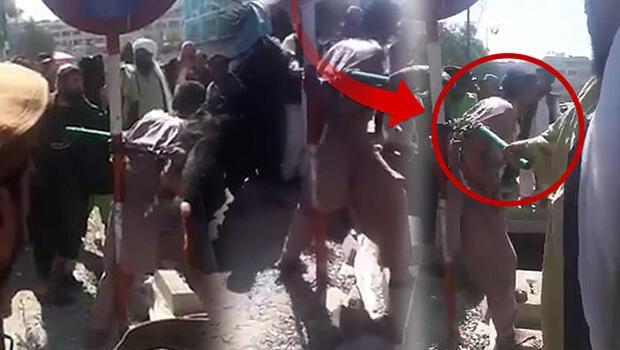 Görüntüler dünyayı ayağa kaldırdı: Taliban'dan işkence gibi ceza!