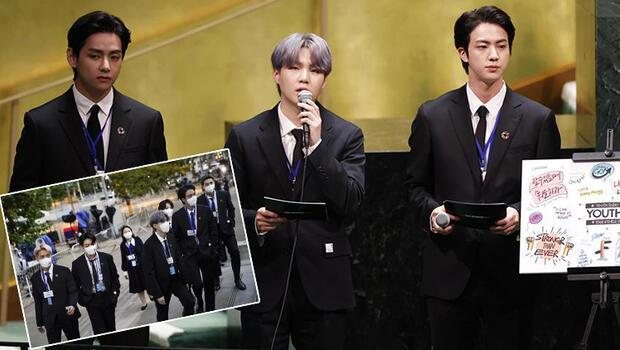 BTS geldi, BM Genel Kurulu çevrimiçi yayını 1 milyondan fazla insan tarafından izlendi!