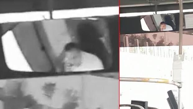 Maskesiz halk otobüsü sürücüsü, kendisini uyaran yolcuyla tartıştı