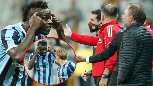 Son Dakika: Beşiktaş - Adana Demirspor maçına Balotelli damgası! Sergen Yalçın'ın yıllar önce yaptığı yorumu unutmadı ve...