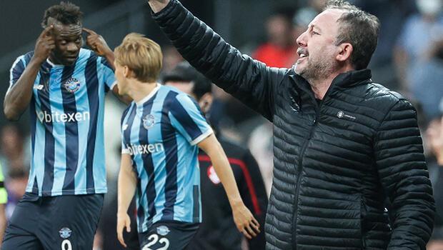 Sergen Yalçın'dan Balotelli açıklaması! 'Seviyesiz