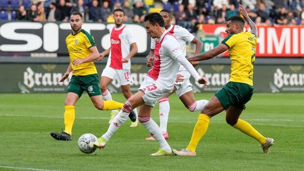 Beşiktaş'ın rakibi Ajax'tan 5-0'lık galibiyet