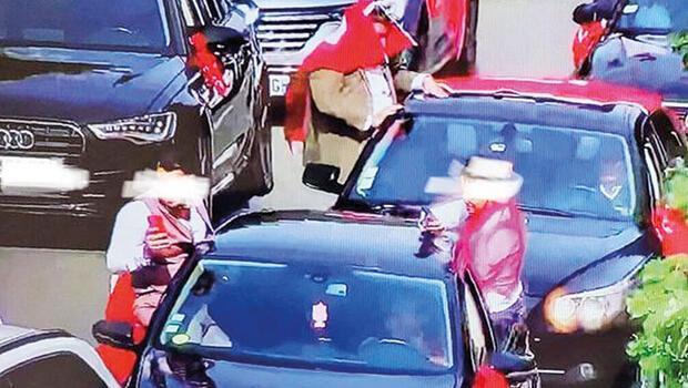 Türk düğün konvoyuna Fransa'da ceza