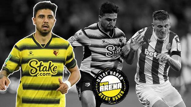 Son Dakika: Watford - Stoke City maçında Ozan Tufan damgası!