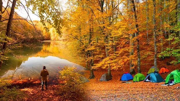 Sonbaharda kamp bir başka güzel... Uzmanlar önerdi: 7 şehirden 15 seçenek