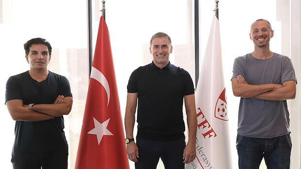 Stefan Kuntz'un yardımcıları Kenan Koçak ve Jan-Moritz Lichte ile 3 yıllık imza