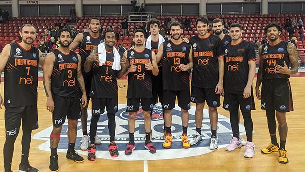 Galatasaray Nef Avrupa'da 2'de 2 yaptı!