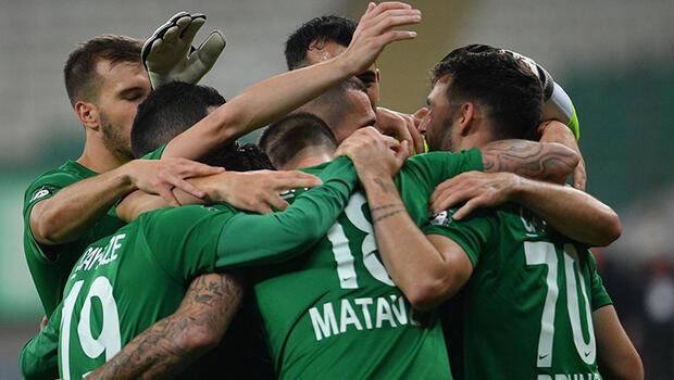 Bursaspor, Boluspor'u 3 golle geçti