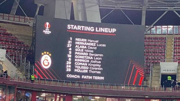 Lokomotiv Moskova-Galatasaray maçında Bayern Münih sürprizi!
