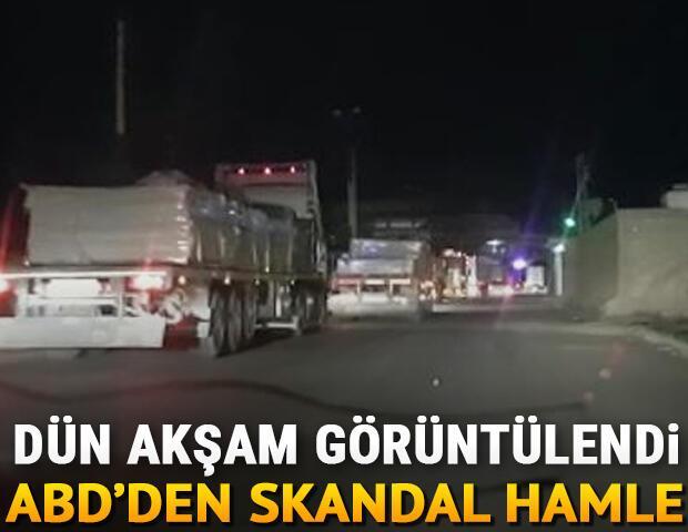 ABDden YPG/PKK işgalindeki bölgeye yeni sevkiyat