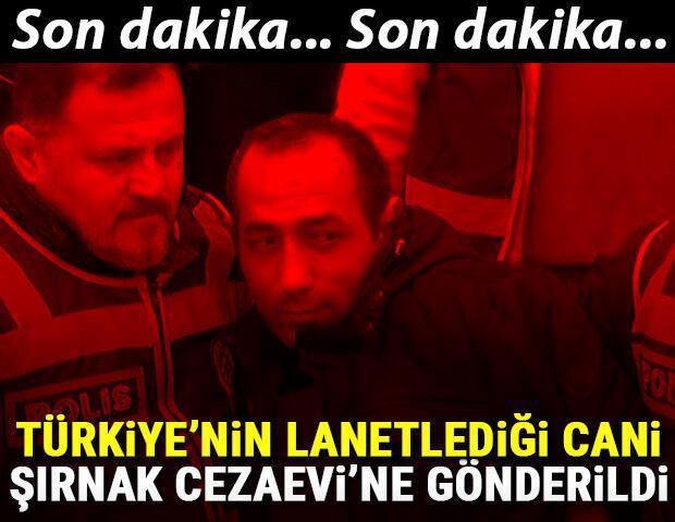 Son dakika: Ceren Özdemir'in katili Şırnak Cezaevine gönderildi
