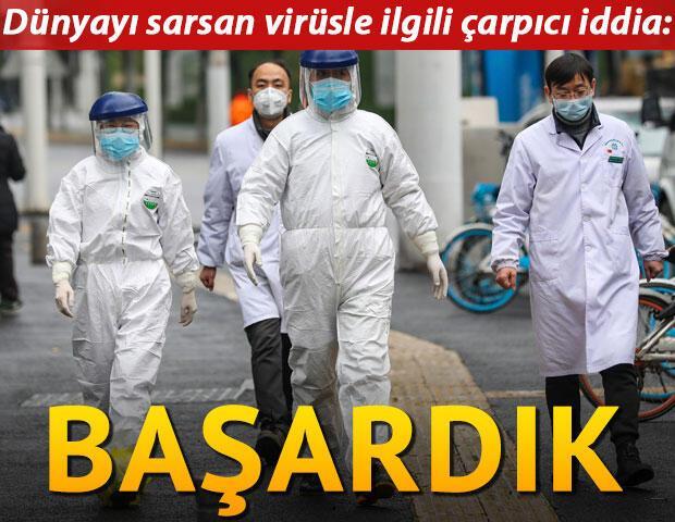 Son dakika... Dünyayı sarsan virüsle ilgili çarpıcı iddia: Başardık