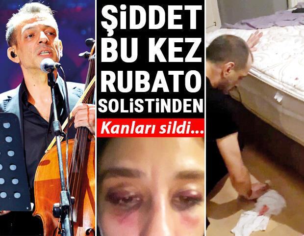 Son dakika haberi: Şiddet bu kez Rubatonun solistinden: Yerdeki kanları temizledi