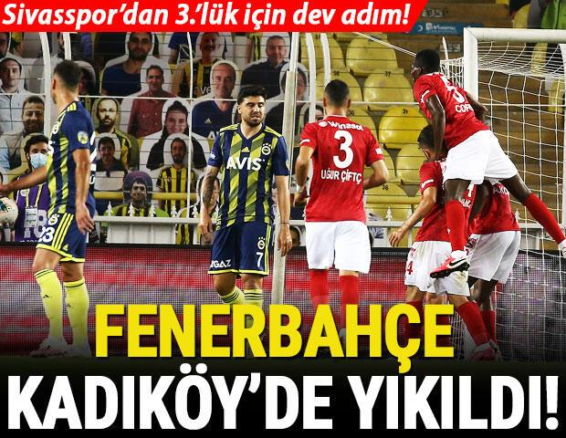 Fenerbahçe 1-2 Sivasspor