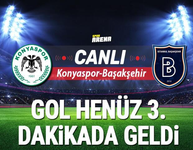 Canlı   Konyaspor Başakşehir