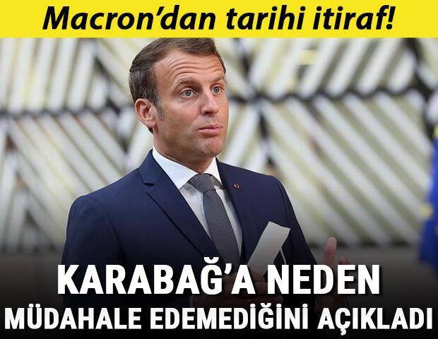 Macron şaşırttı: Karabağ Azerbaycan toprağıdır