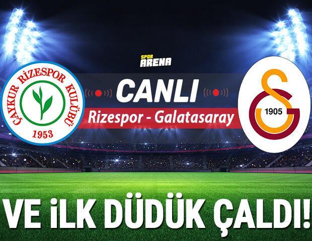 Canlı Anlatım İzle   Çaykur Rizespor Galatasaray maçı