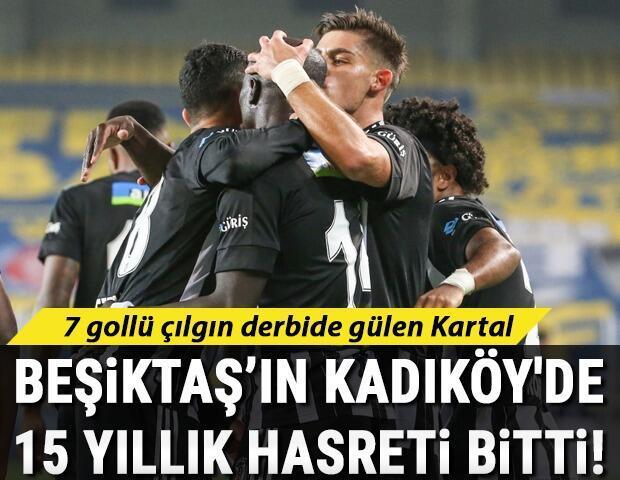 Fenerbahçe 3-4 Beşiktaş (Maçın özeti)