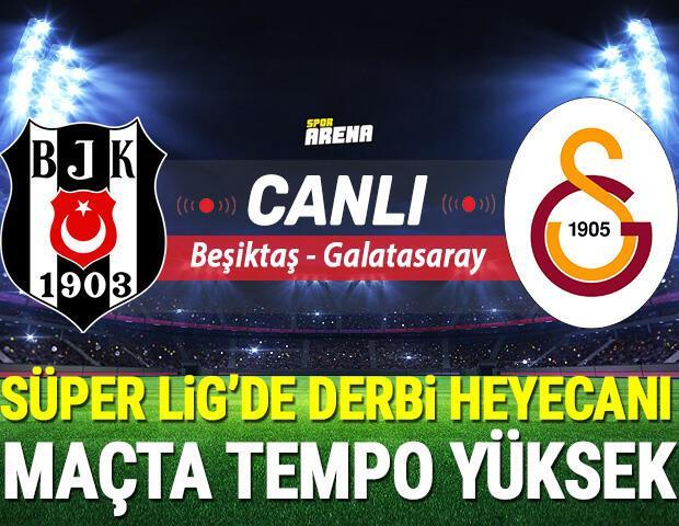 Canlı Anlatım İzle | Beşiktaş Galatasaray maçı