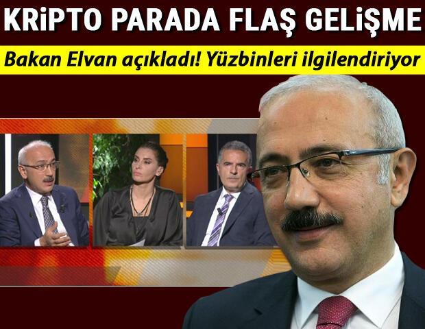Son dakika haberi... Hazine Ve Maliye Bakanı Lütfi Elvan açıkladı Kripto parada flaş gelişme