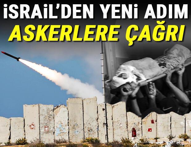 Son dakika haberi: İsrailden yeni adım Binlerce askeri göreve çağırdılar, yeni saldırı başlattılar