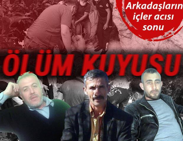 Adana'da su kuyusuna düşen 3 arkadaştan kahreden haber