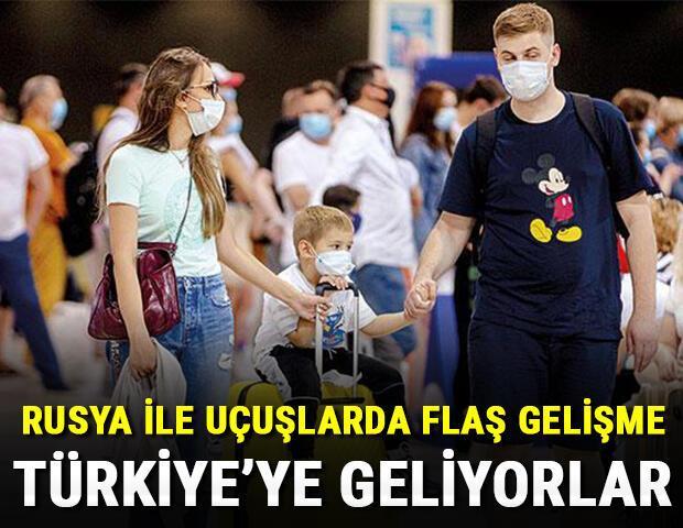 Rusya ile uçuşlarda flaş gelişme Rusya heyeti Türkiyeye geliyor...