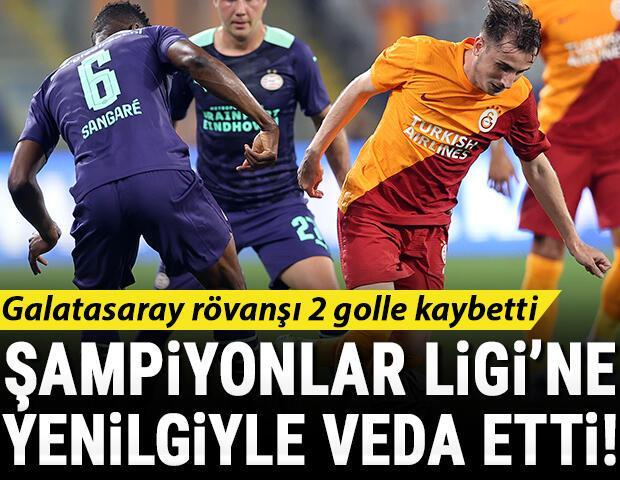 Son Dakika Haberi... Galatasaray, Şampiyonlar Ligine veda etti PSV Eindhoven rövanşı da kazandı (Maçın özeti)