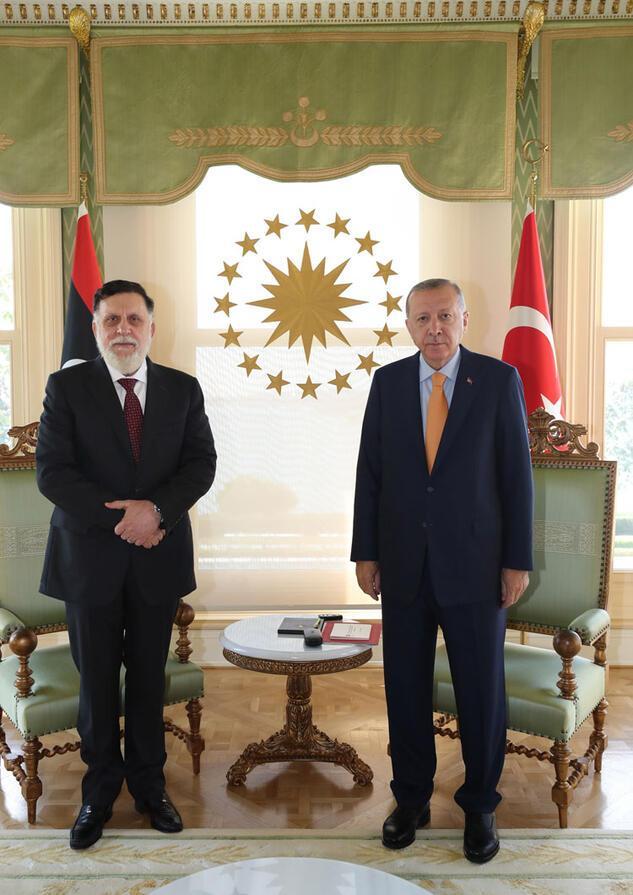 Son dakika.. Cumhurbaşkanı Erdoğandan kritik görüşme