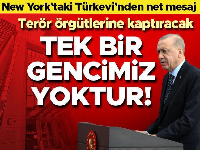 Erdoğandan net mesaj: Terör örgütlerine kaptıracağımız tek bir evladımız yoktur