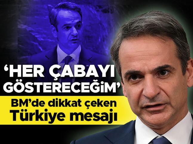 BMde dikkat çeken Türkiye mesajı: Her türlü çabayı göstereceğim