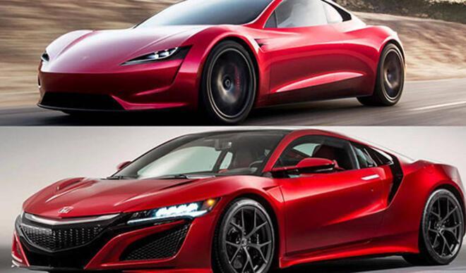 Tesla Roadster, Honda NSX'in kopyası mı?
