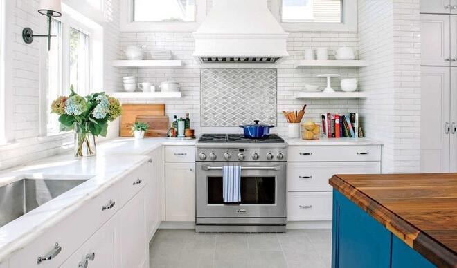 Son zamanların en iyi beyaz mutfak tasarımları