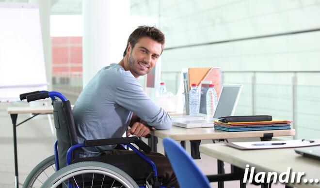 Türkiye'de çalışabilir durumda 2 milyon engelli vatandaş var