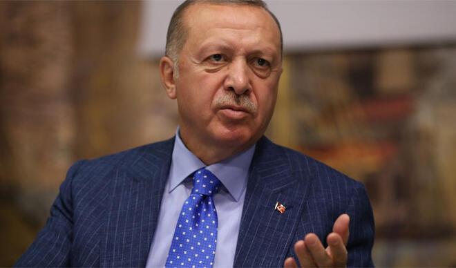 Cumhurbaşkanı Erdoğan: 'Amerika'yı, Batı'yı tahrik etmek istiyorlar'
