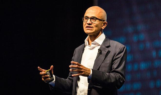 Microsoft'un CEO'su Satya Nadella 42,9 milyon dolar ikramiye aldı