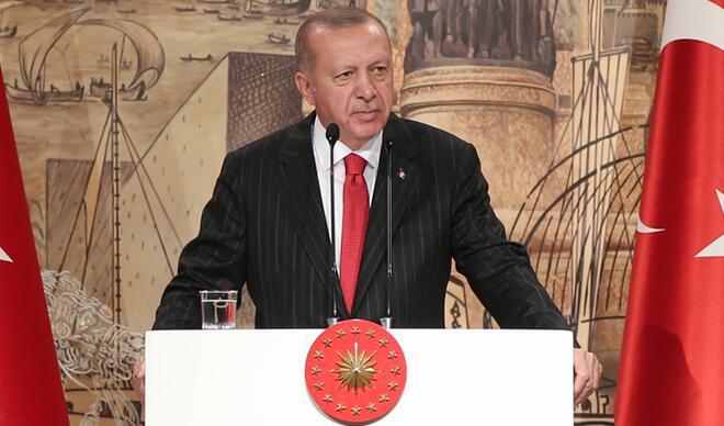 Cumhurbaşkanı Erdoğan uyardı: Kaldığı yerden çok daha kararlı şekilde devam eder