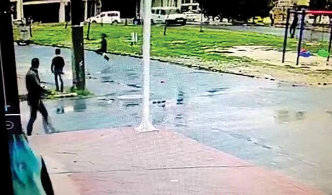 Havalı tüfekli canavar... Parktaki 9 çocuğu vurdu