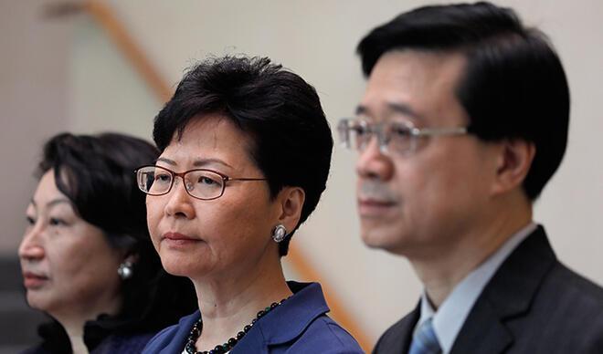Hong Kong'da protestolara yol açan yasa tasarısı geri çekildi