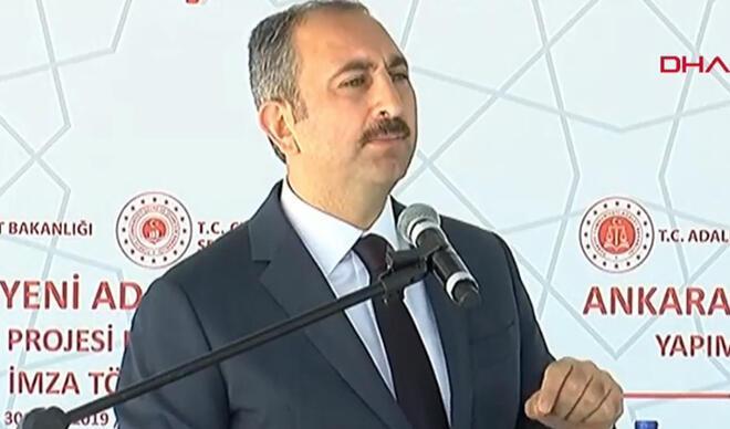 Adalet Bakanı Gül'den sert tepki: ''Bizim için yok hükmündedir''